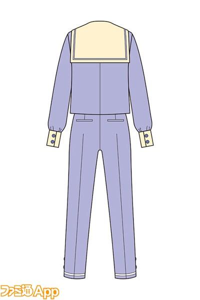 聖フローラ中学 制服c