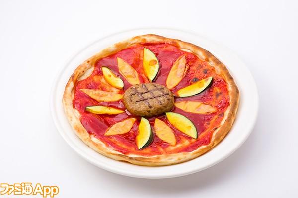 向日葵風かぼちゃピザ