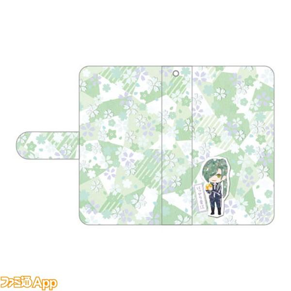 手帳型iPhoneケース にっかり青江
