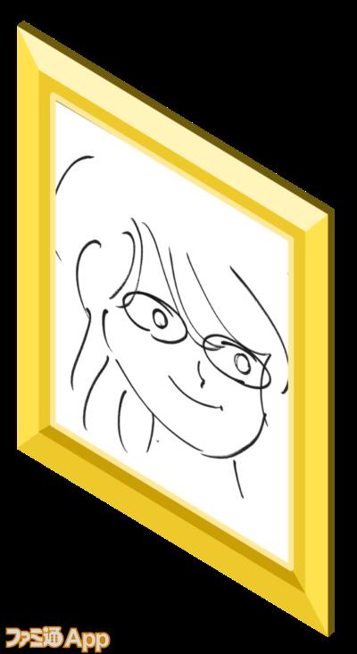 ミモザの肖像画