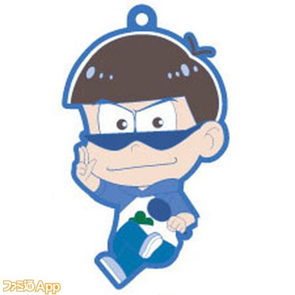 OSUWARI!!シリーズ おそ松さん ラバーマスコット カラ松