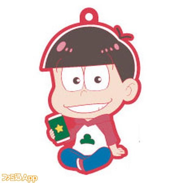 OSUWARI!!シリーズ おそ松さん ラバーマスコット おそ松