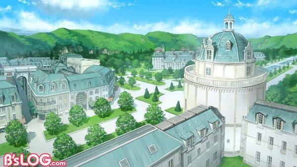 私立櫂宮学園全景