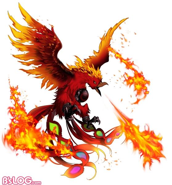 【キャラ】灼熱の不死鳥