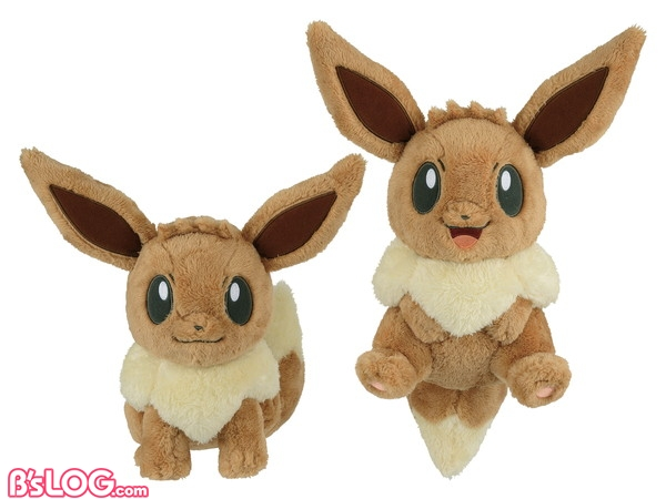 Pokemonlife with EIEVUI でっかいぬいぐるみ