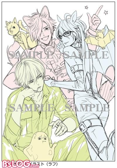 01描き下ろしラフ