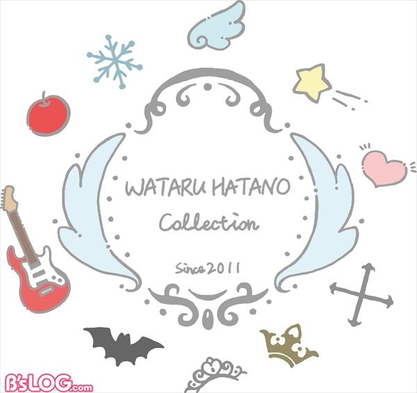 オンリーショップ「WATARU HATANO COLLECTION SINCE 2011」ロゴ