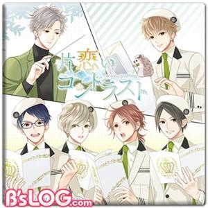 【05】片恋いコントラスト-OST_ステラ特典_缶バッジ