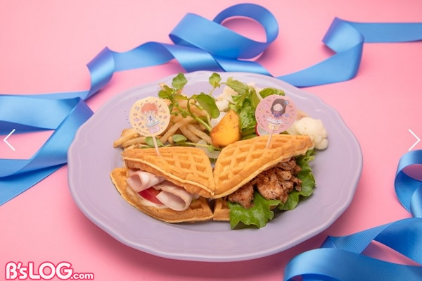 ロマニとダ・ヴィンチのワッフルサンドイッチ