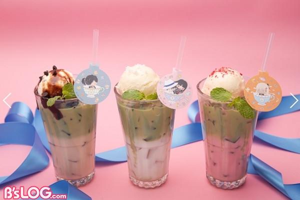 抹茶ミルクフロート(全3種)