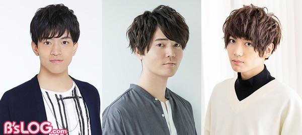 (左から)石川界人さん、駒田航さん、千葉翔也さん