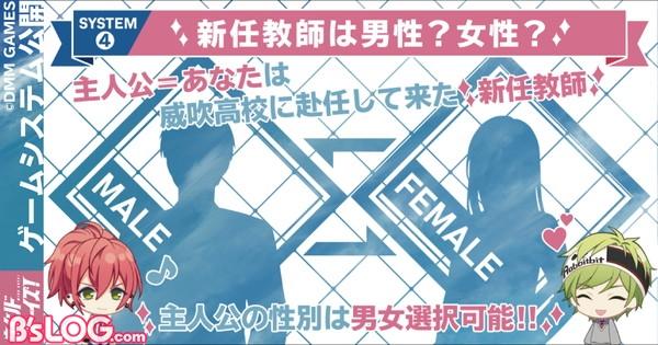 4.男女選択