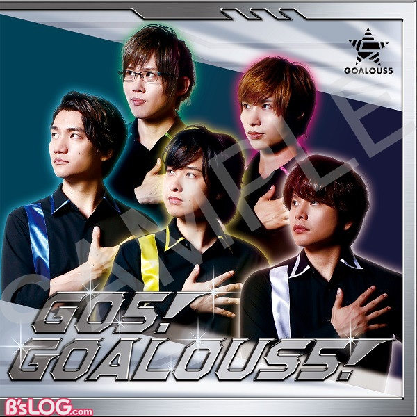 GOALOUS5テーマソングCD「GO5!GOALOUS5!」(MV盤)