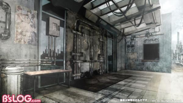 ゲーム内背景_ウーユリーフ・ファクトリー入口