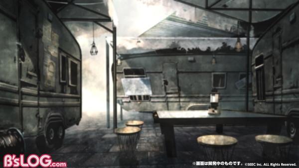 ゲーム内背景_トレーラーハウス