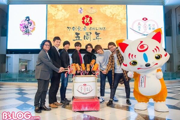 イベント写真(左から北岡、伊藤、でじたろう、増田、新垣、濱、興津)
