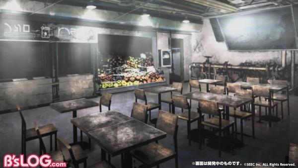 ゲーム内背景_ウーユリーフ・ファクトリー食堂