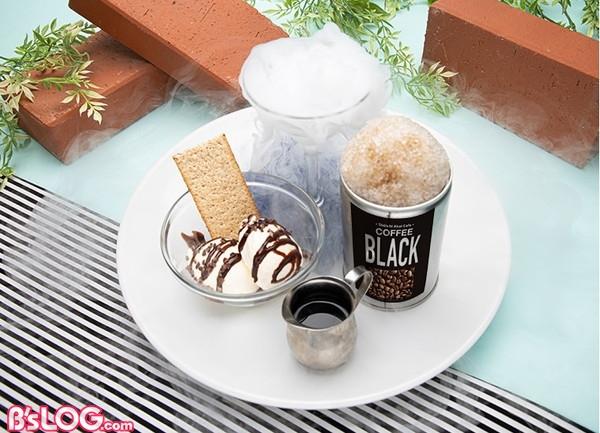 真実のかき氷(コーヒー味)